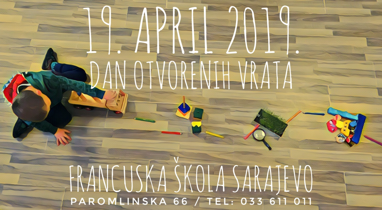 Dan otvorenih vrata - 19.04.2019.